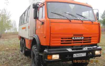 Автобус и микроавтобус Камаз 6х6 нефаз заказать или взять в аренду, цены, предложения компаний