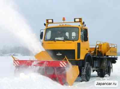 Снегоуборочная машина МАЗ заказать или взять в аренду, цены, предложения компаний