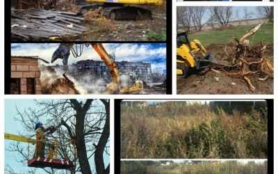Расчистка участков,спил деревьев,демонтаж строеней - Благовещенск, цены, предложения специалистов