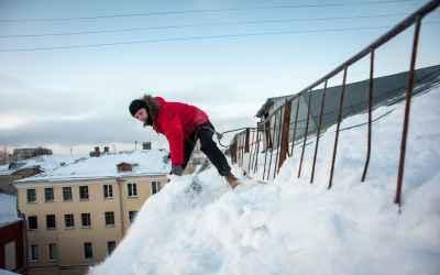 Уборка снега и наледи с крыш - Благовещенск, цены, предложения специалистов