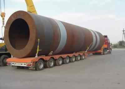 Перевозка труб больших диаметров тралами и площадками - Благовещенск, цены, предложения специалистов