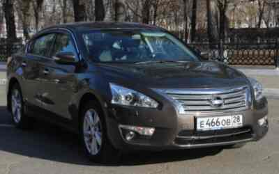 Автомобиль легковой Ниссан Теана 2015 год заказать или взять в аренду, цены, предложения компаний