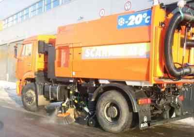 Вакуумная подметально-уборочная машина Scarab M6 на базе Камаз заказать или взять в аренду, цены, предложения компаний