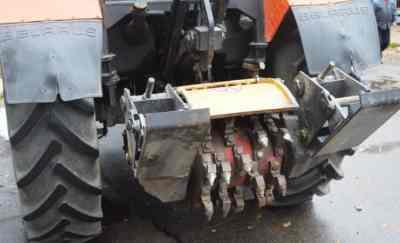 Фреза дорожная / ресайклер на базе трактора МТЗ-82 Беларус заказать или взять в аренду, цены, предложения компаний
