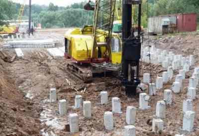 Забивка бетонных свай, услуги сваебоя - Благовещенск, цены, предложения специалистов