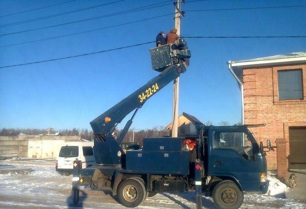Аренда автовышек 16 м - Возжаевка