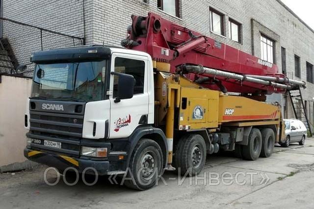 Сдам в аренду автобетононасос Scania - Благовещенск