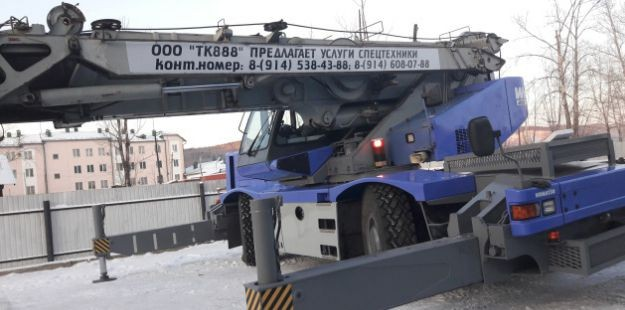 Услуги автокрана 25 тонн - Сковородино