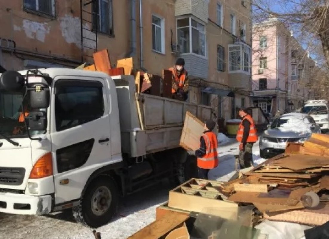 Прием заявок на вывоз строительного мусора. Диспетчерская - Благовещенск, цены, предложения специалистов